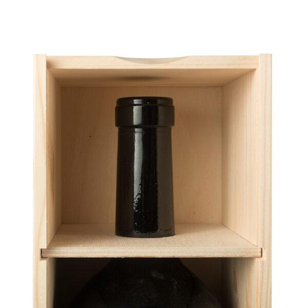 Art. 180 - Cassetta in legno di pino con coperchio ...
